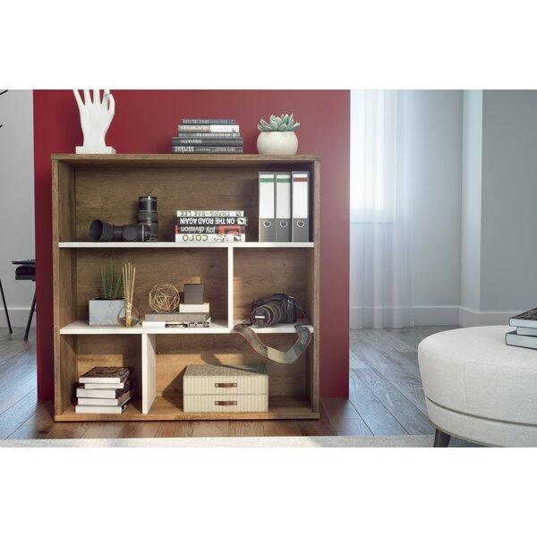 Margery Geometric Bookcase By Brayden Studio