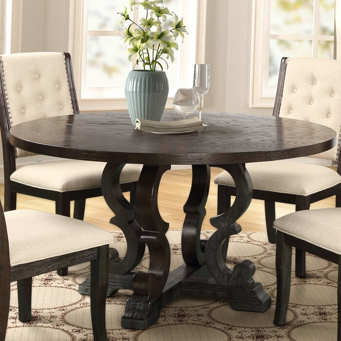 Laurist Solid Wood Dining Table