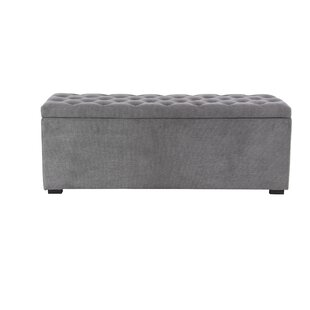 Price Check Aahil Eclectic Upholstered Storage Bench ByAlcott Hill