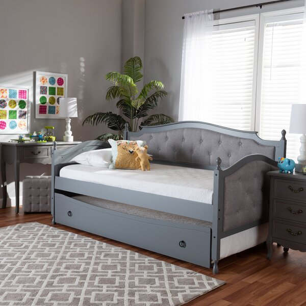 Cartert Twin Daybed With Trundle By Red Barrel Studio