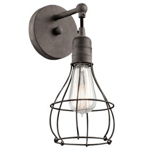 Best Choices Kia 1-Light Wall Sconce By Williston Forge