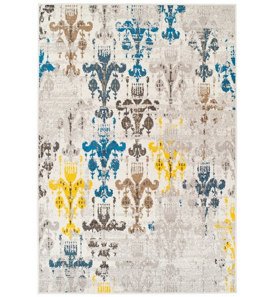 Houck Wool Beige Indoor/Outdoor Area Rug by Bloomsbury Market