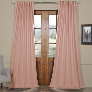 Light Pink Blackout Curtains