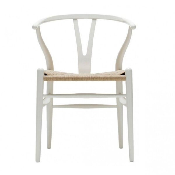 Delania Solid Wood Dining Chair by Bungalow Rose Bungalow Rose