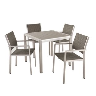 Smithson Fitch Buckle 5 Piece Dining Set By Orren Ellis