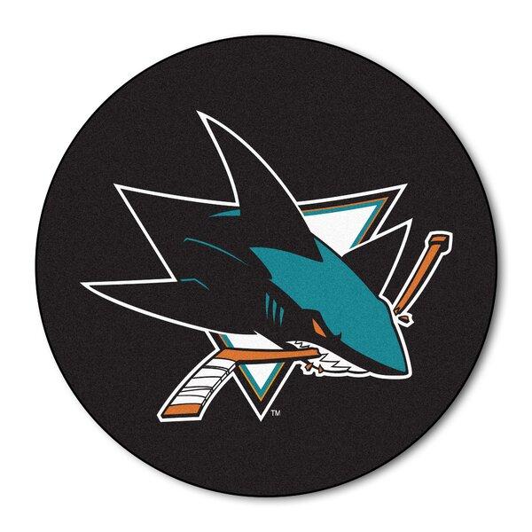 NHL - San Jose Sharks Puck Doormat by FANMATS
