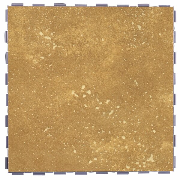 Classic Standard 12 x 12 Porcelain Field Tile in Latte by SnapStone