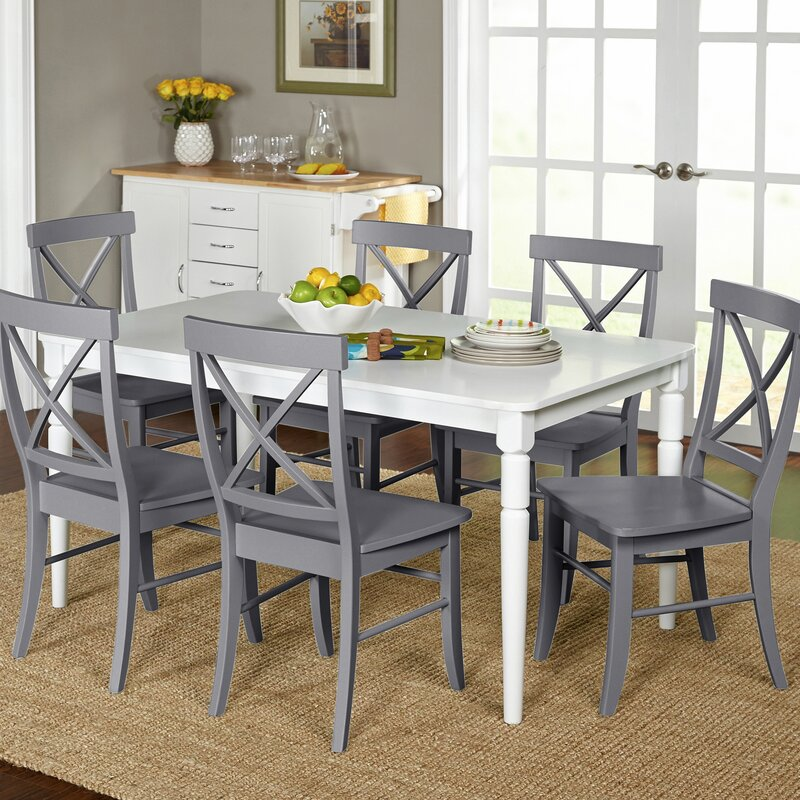 Room Store Dining Room Sets: Beachcrest Home Brookwood 7 Piece Dining Set & Reviews