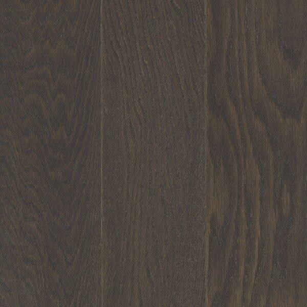 Alessandra Random Width Engineered Oak Hardwood Flooring in Gunmetal by Welles Hardwood