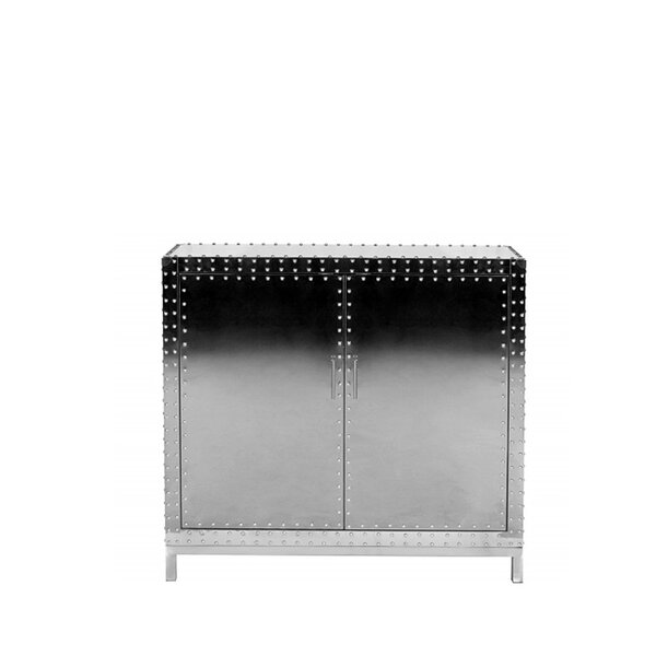 Kane Studded Accent Cabinet by 17 Stories