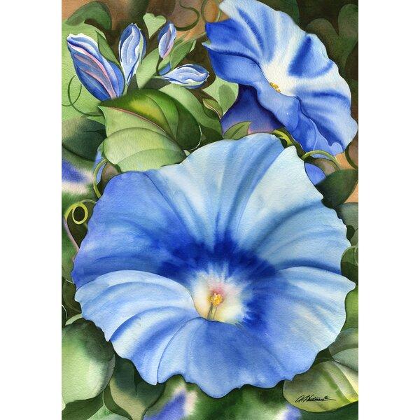 Big Blue Garden flag by Toland Home Garden