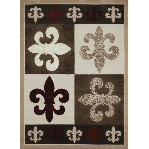 China Garden French Quarter Beige/Brown Area Rug by United Weavers of America