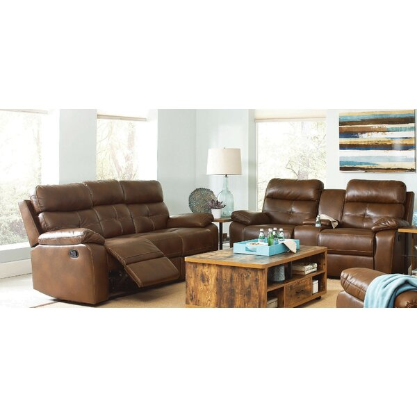 Review Amidon Motion 2 Piece Reclining Living Room Set