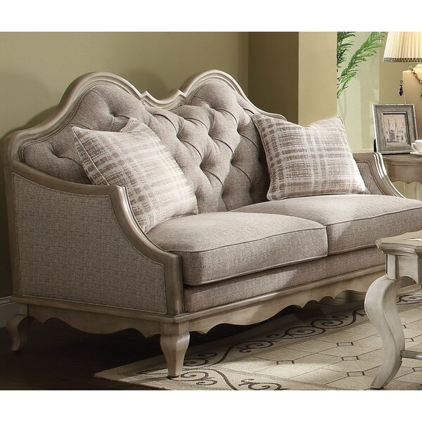 Online Shopping Taglieri Standard Loveseat by One Allium Way by One Allium Way