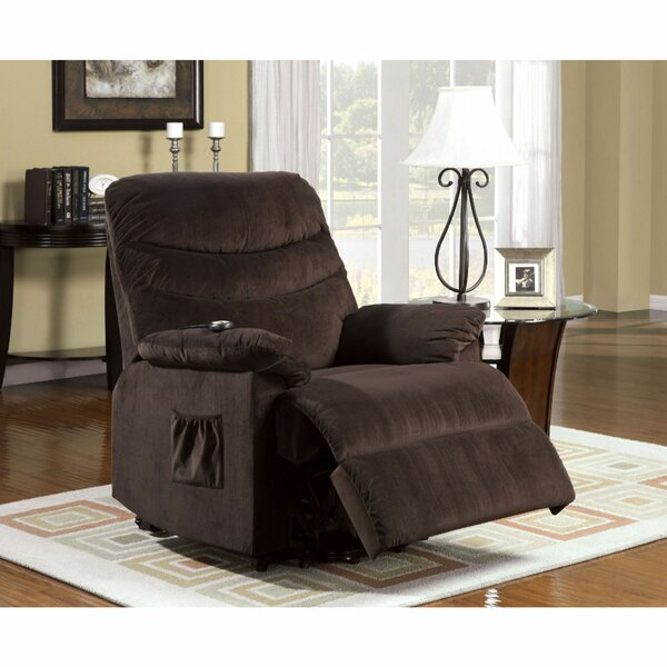 Clarimond Fabric Upholstered Metal Lift Power Recliner W001099246