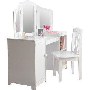 Makeup Vanity Chairs With Backs | Wayfair
