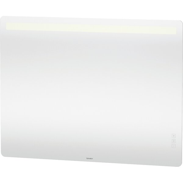 Luv Modern Frameless Lighted Bathroom Mirror