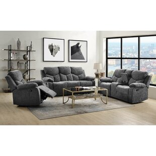 Hymera Reclining Configurable Living Room Set by Ebern Designs