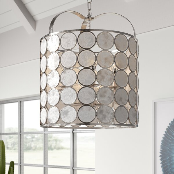 Nevitt 6-Light Drum Chandelier by Mistana