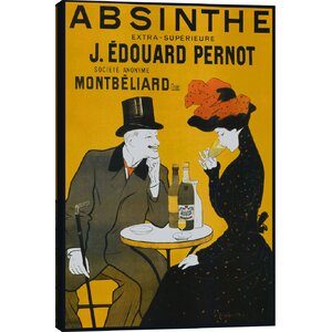 Absinthe Vintage Advertisement on Canvas by iCanvas