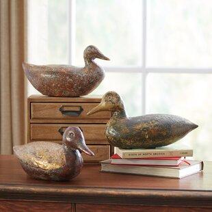 Bayou Duck Decor Set Of 3