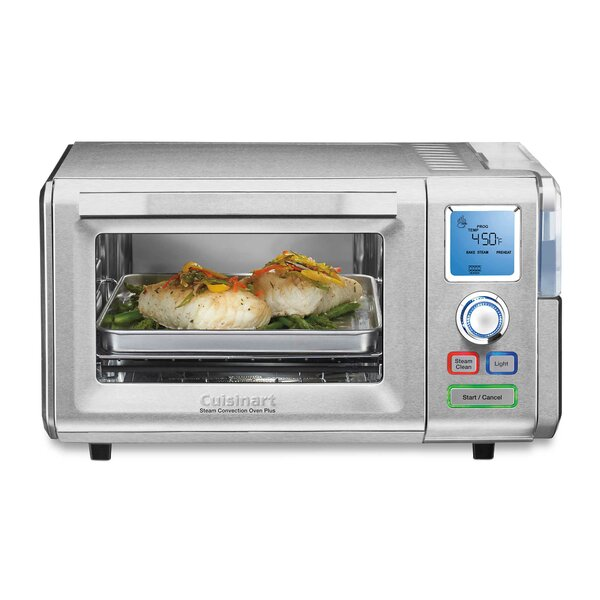 0.6 Cu. Ft. Combo Steam & Convection Oven by Cuisi