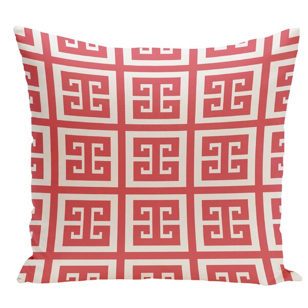 Geometric Throw Pillow by e by design