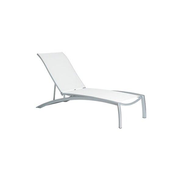 South Beach Reclining Chaise Lounge by Tropitone Tropitone