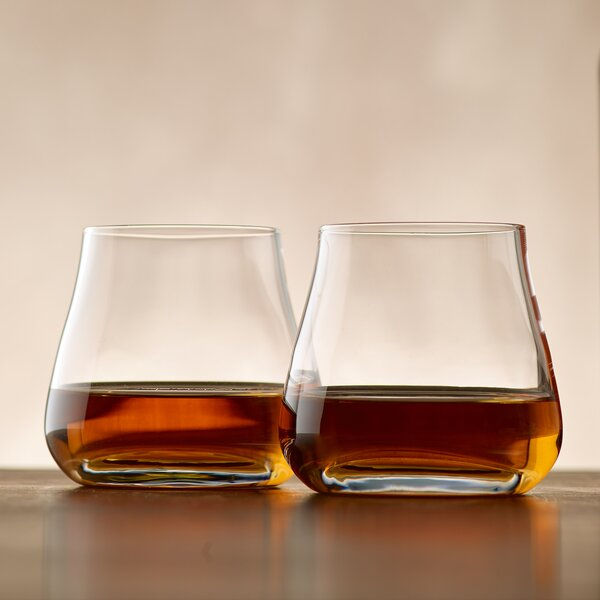 Batch Whiskey 9 oz. Cocktail Glass (Set of 2) by Wine Enthusiast