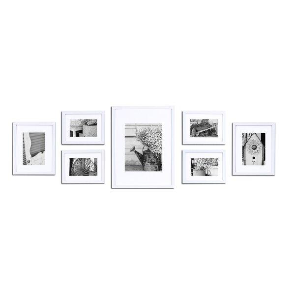 Marvelous White Frame Set Part - 10: Gallery Wall Frame Set White | Wayfair
