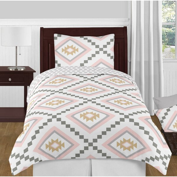 Aztec Twin Reversible Comforter Set by Sweet Jojo Designs