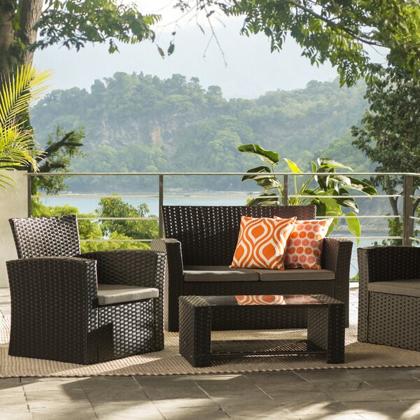 Charmain Sofa Set with Cushions by Zipcode Design