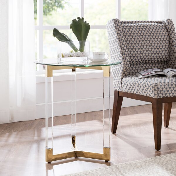 Holbeach End Table by Everly Quinn