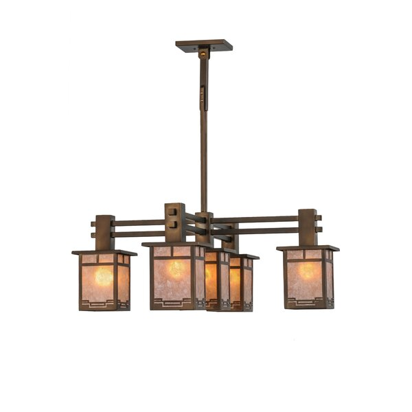 Roylance 5-Light Shaded Chandelier by Meyda Tiffany