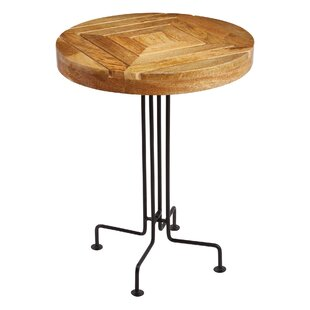 Cameron Slatted End Table