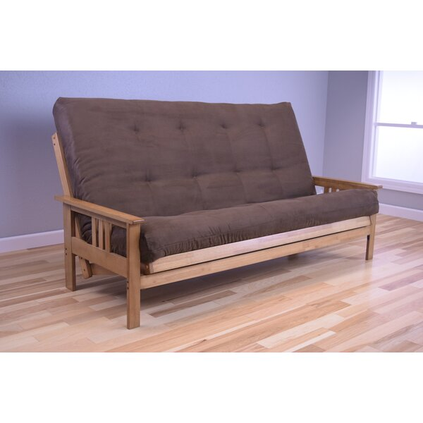 Leavittsburg Futon and Mattress by Red Barrel Studio