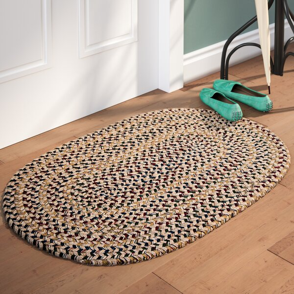 Greenlaw Oatmeal Area Rug by Three Posts