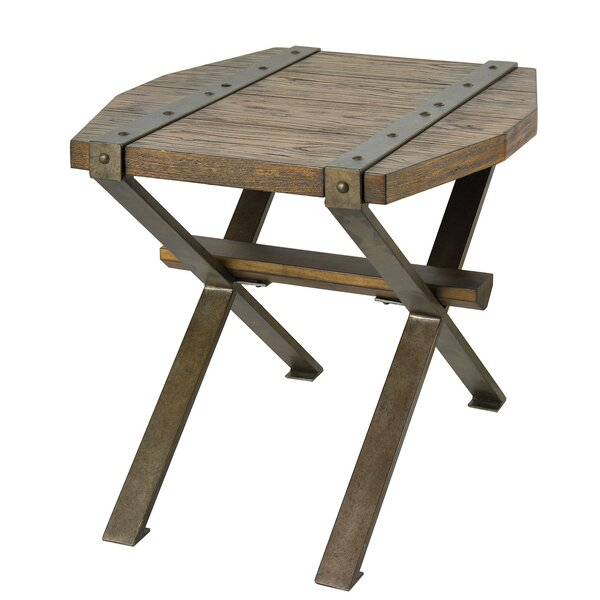 Jase End Table by Williston Forge