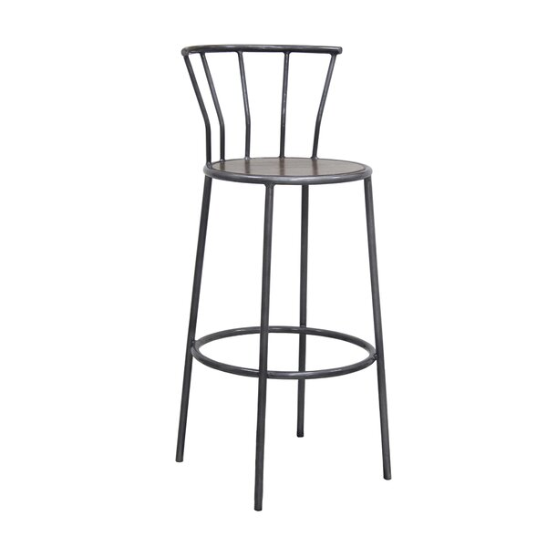 Groovy Price Check Russett 26 Bar Stool By Three Posts Cjindustries Chair Design For Home Cjindustriesco