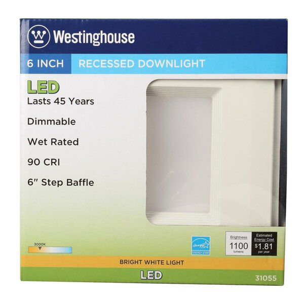 LED Recessed Retrofit Downlight by Westinghouse Lighting