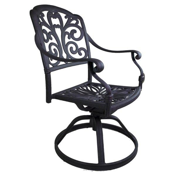 Thurston Patio Dining Chair by Fleur De Lis Living
