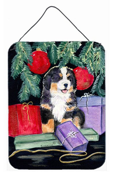 Bernese Mountain Dog Painting Print Plaque by Caroline's Treasures
