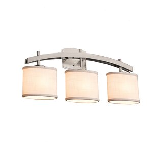 Find for Red Hook Archway 3 Light Oval Vanity Light By Latitude Run