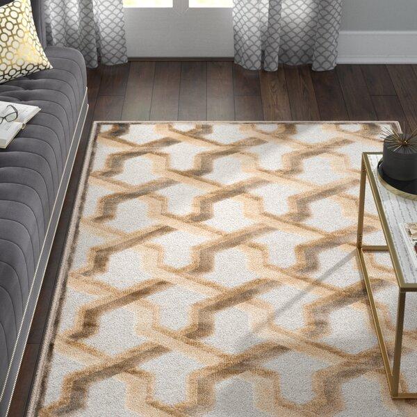 Maspeth Gray/Brown Area Rug by Willa Arlo Interiors
