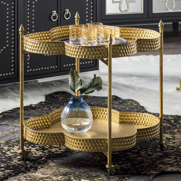 Whetzel Bar Cart By Willa Arlo Interiors