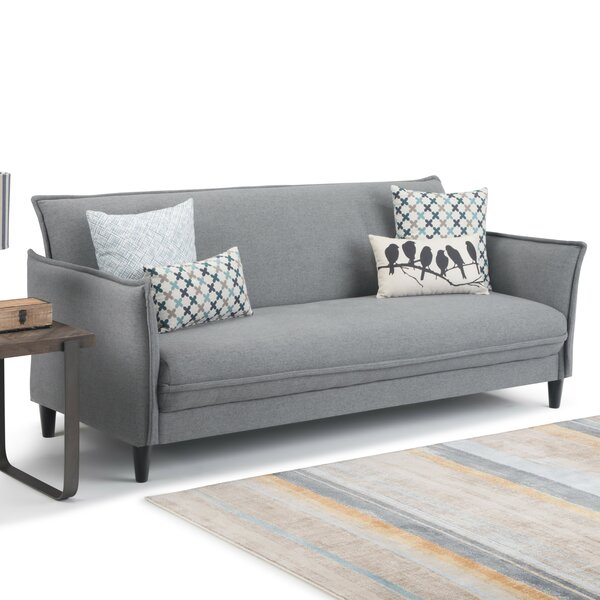 Immanuel Click-Clack Convertible Sofa by 17 Stories