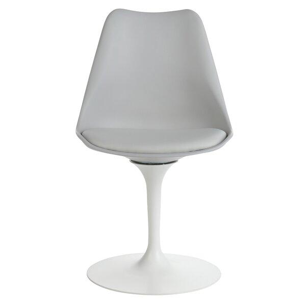 Sinkler Mid-Century Modern Swivel Upholstered Dining Chair by Latitude Run