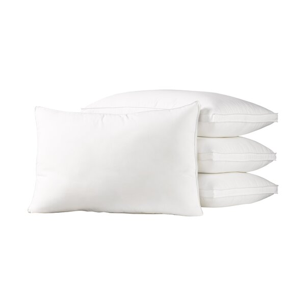 Calvino Gusseted Polyester Medium Density Pillow (Set of 4) by The Twillery Co.
