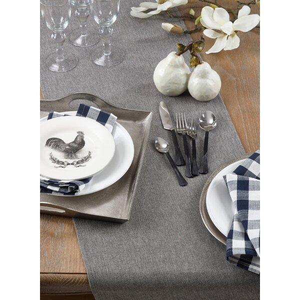 Mallen Cotton Table Runner by Gracie Oaks