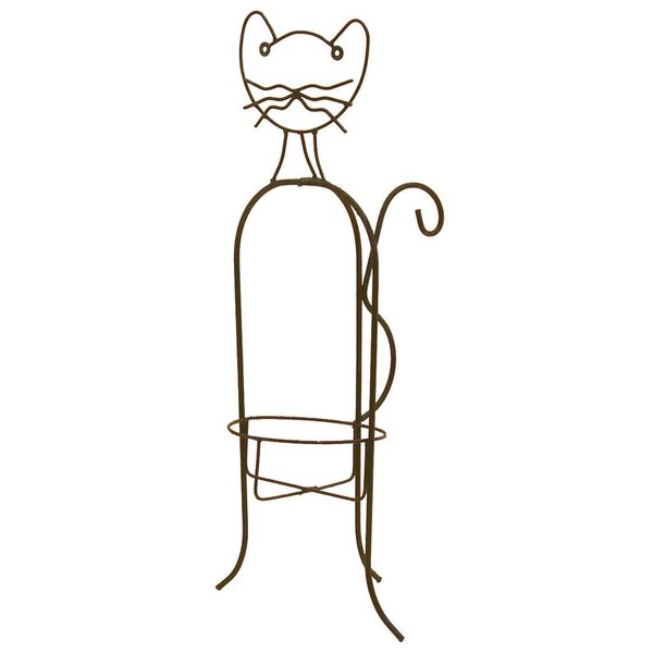 Cat Plant Stand by Deer Park Ironworks